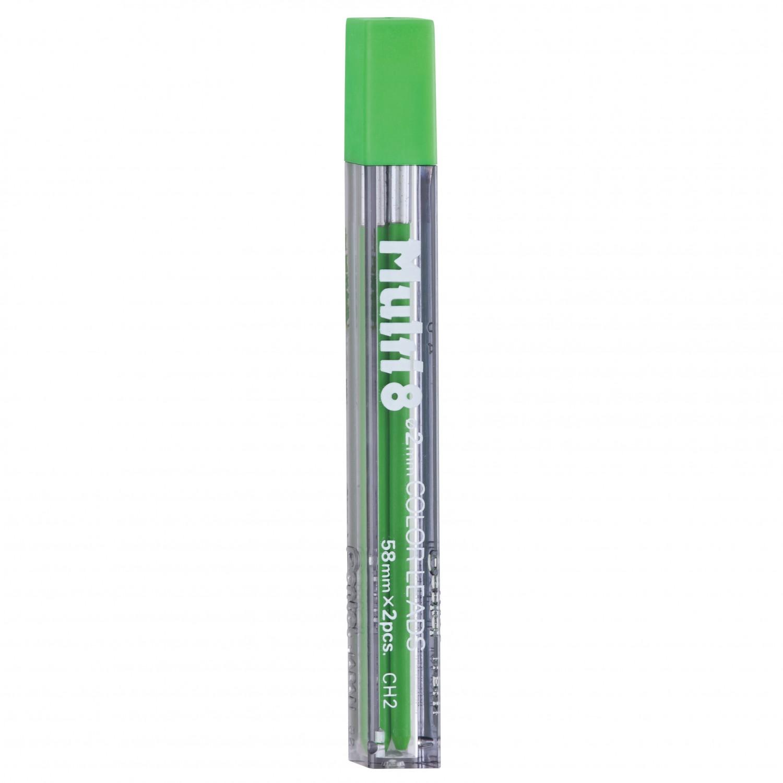 Pentel Multi 8 Color Leads, 2mm Lt. Green