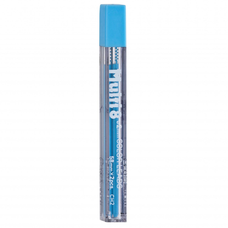 Pentel Multi 8 Color Leads, 2mm Lt. Blue