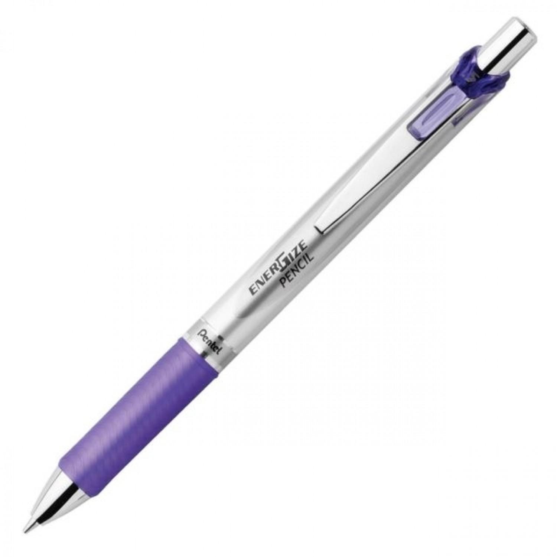 Pentel EnerGize Auto Pencil 0.5mm Trans Tip, Violet