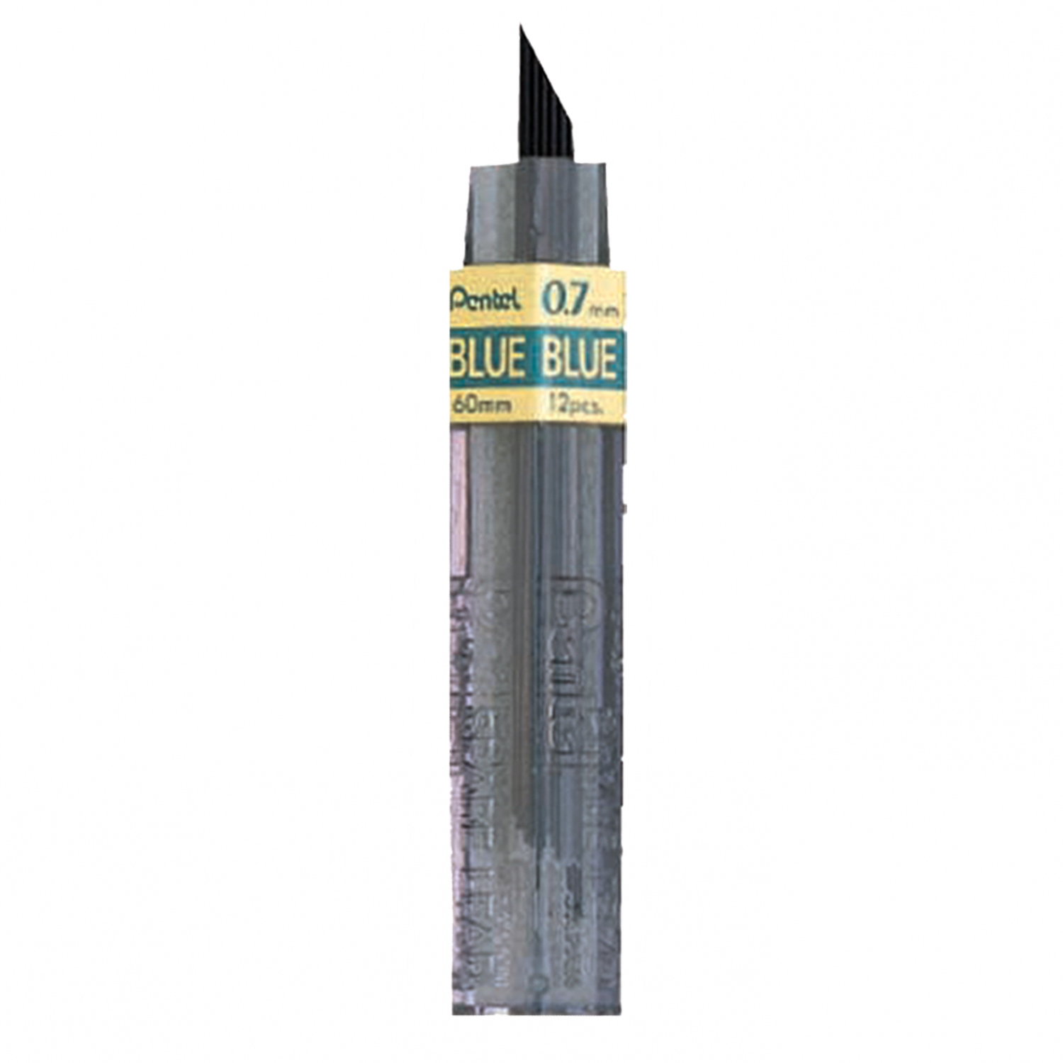 Pentel Colored Lead, 0.7mm Blue 12 Leads