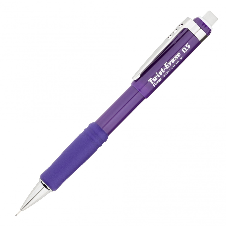 Pentel Twist-Erase III Automatic Pencil 0.5mm Violet Barrel