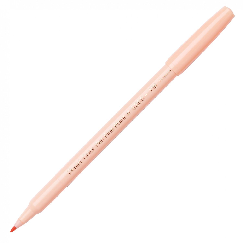 Pentel Color Pen, Fine Pt Pale Orange