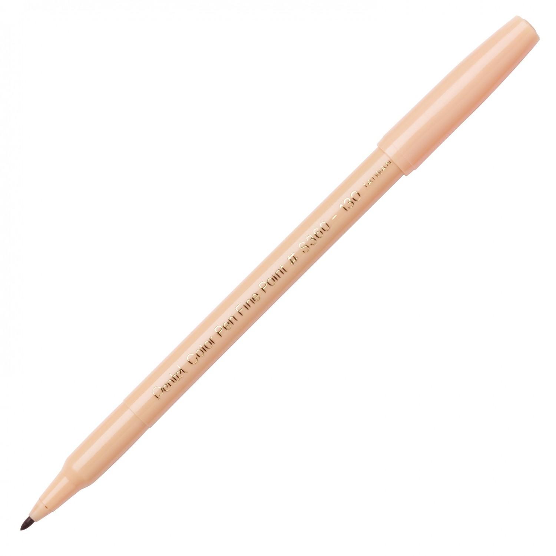 Pentel Color Pen, Fine Pt Dull Orange
