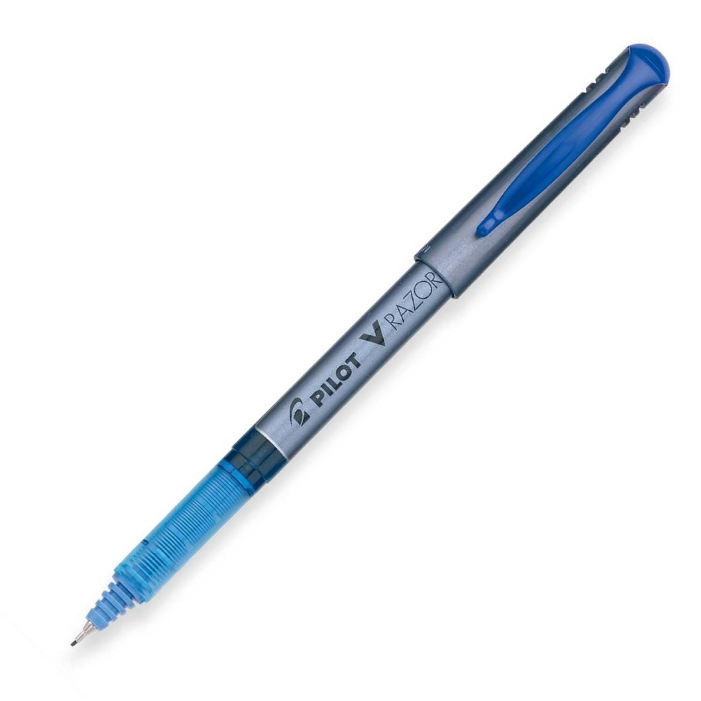 Pilot LRP V Razor Point Liquid Ink Marker Pen, XF Blue