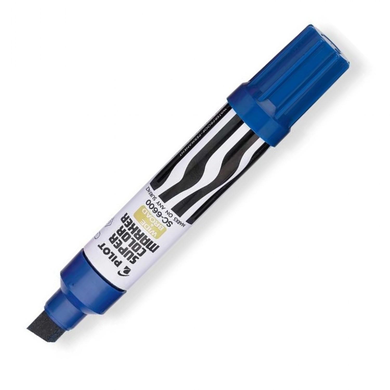 Pilot SC-6600 Jumbo Permanent Marker, Blue