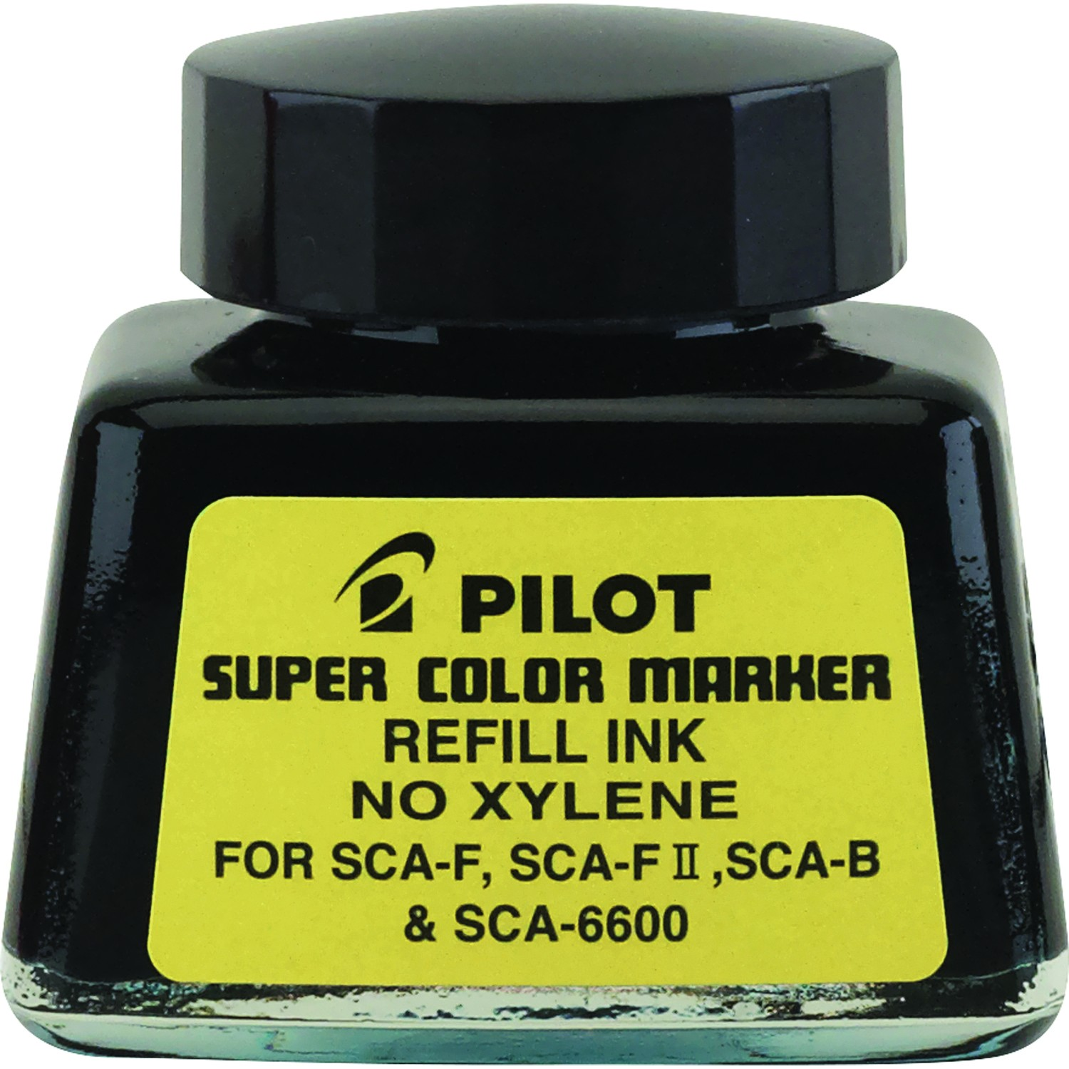 Pilot SC-RF Refill Ink for Permanent Markers, Black