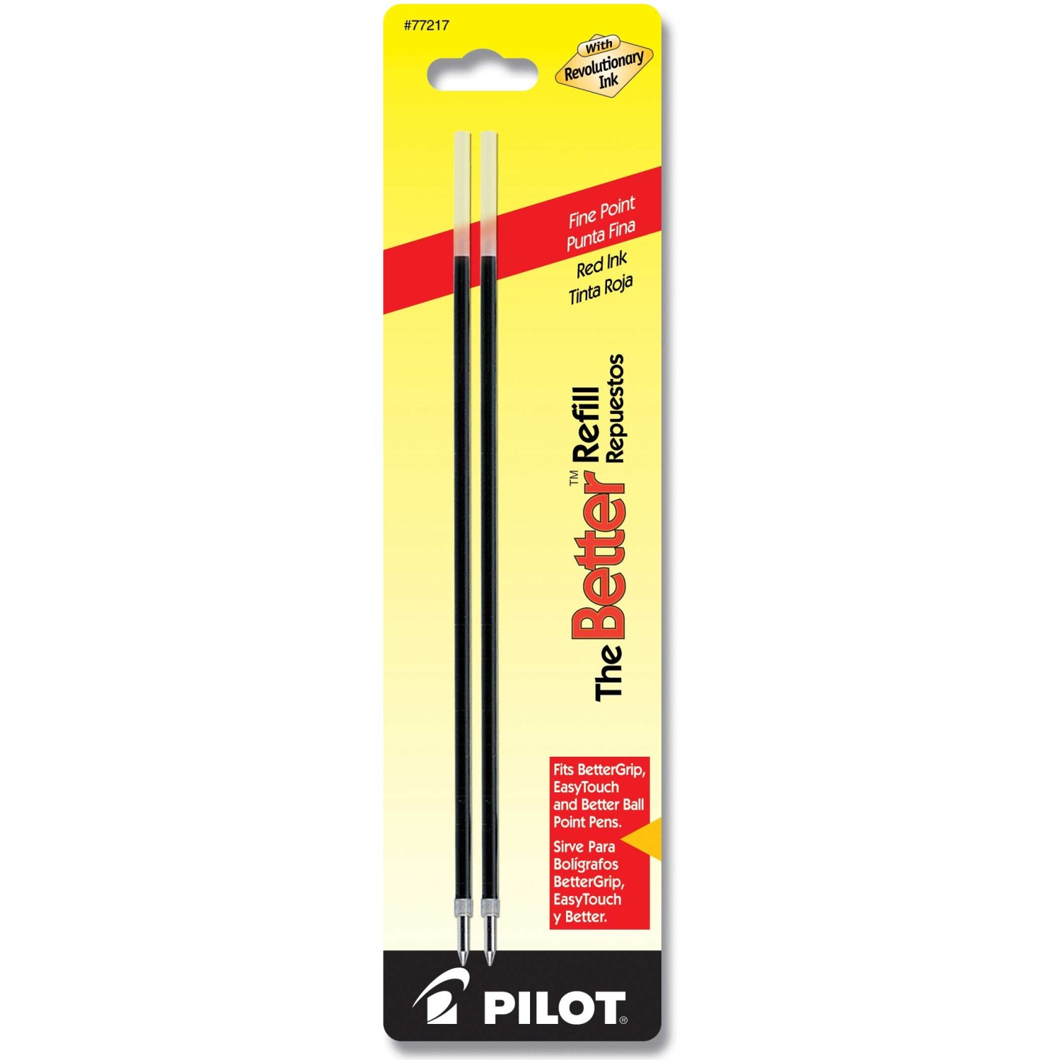 Pilot BRFL2 The Better Refill, Fine, Red