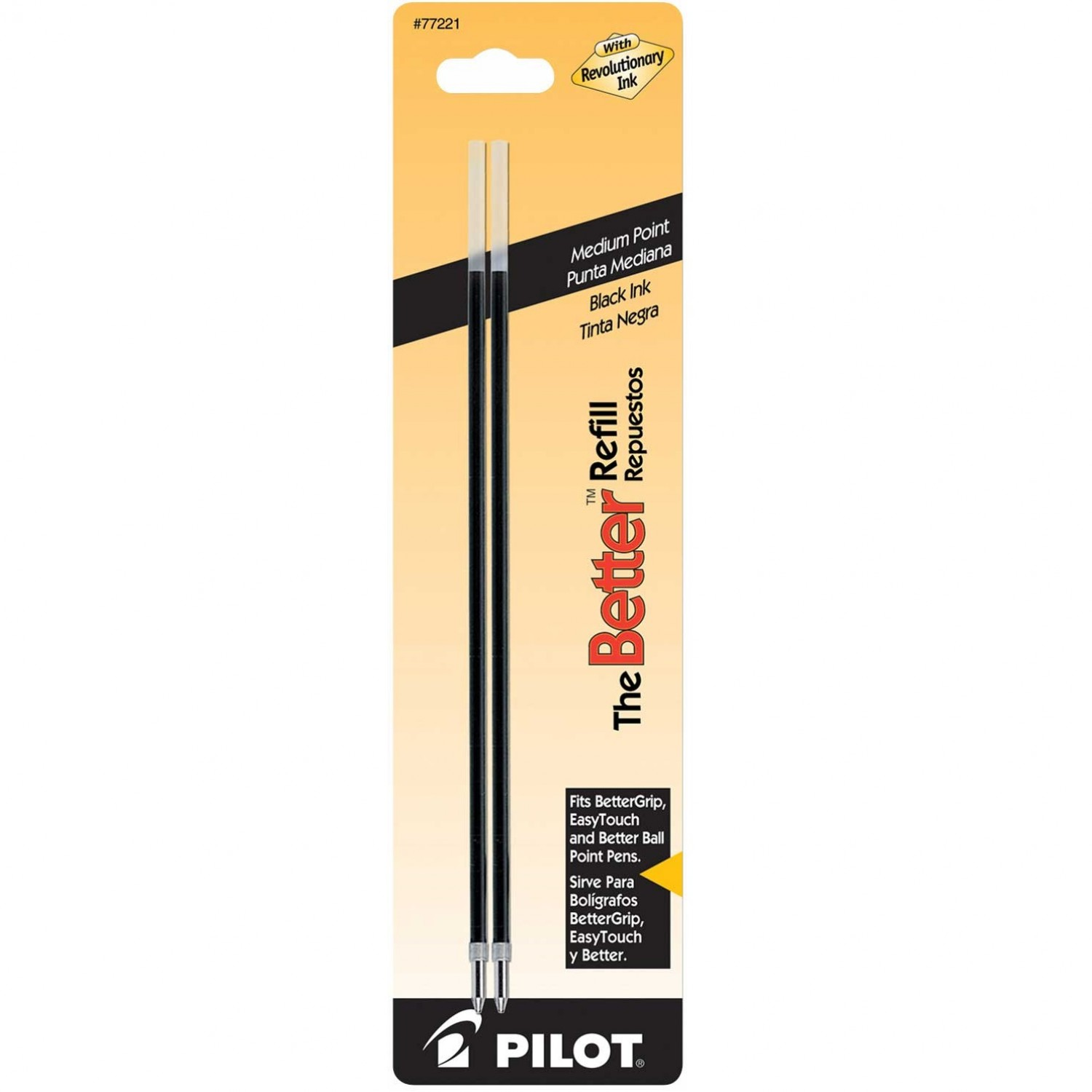 Pilot BRFL2 The Better Refill, Medium, Black