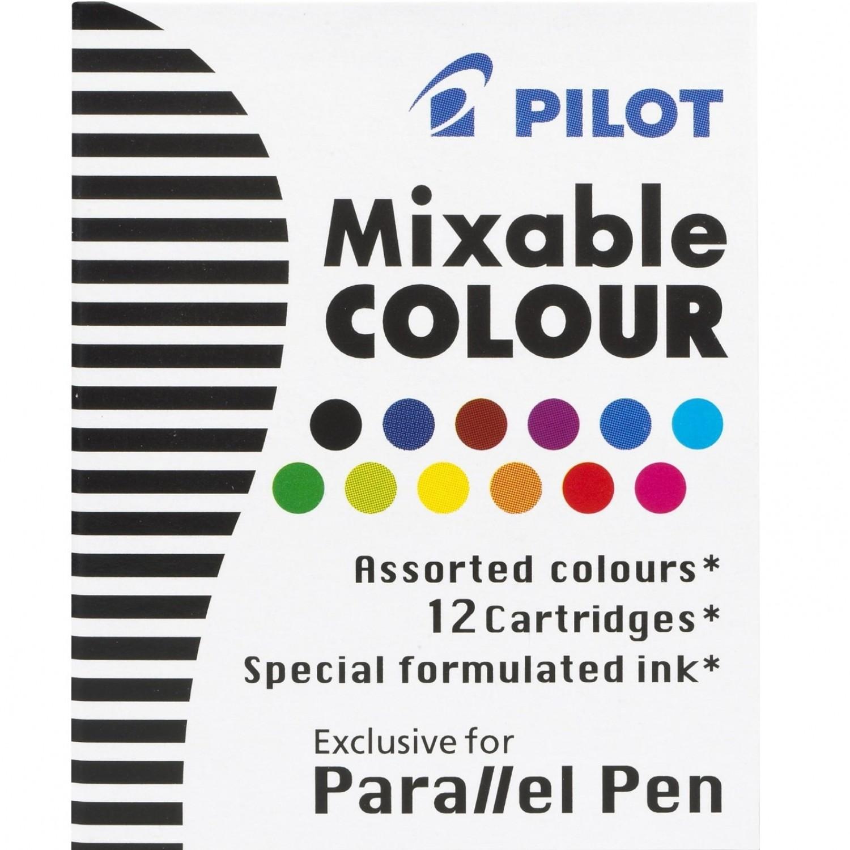 Pilot ICP31 Parallel Pen Refill - 12 Color Assortment