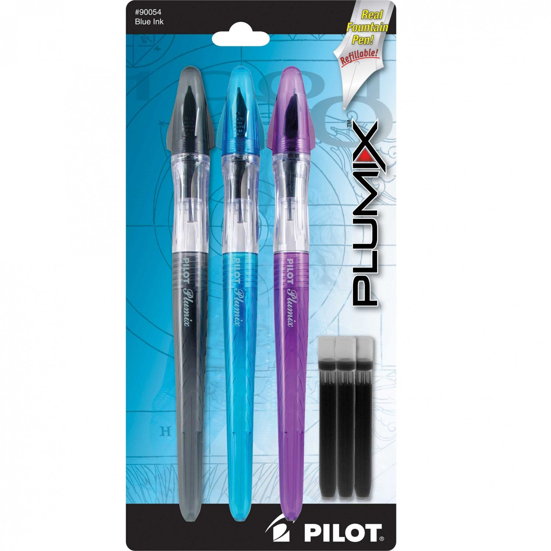 Pilot Plumix Assorted 3Pk
