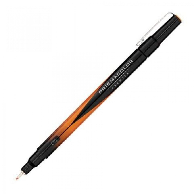 PrismaColor Premier Fine Line Marker Orange 0.5