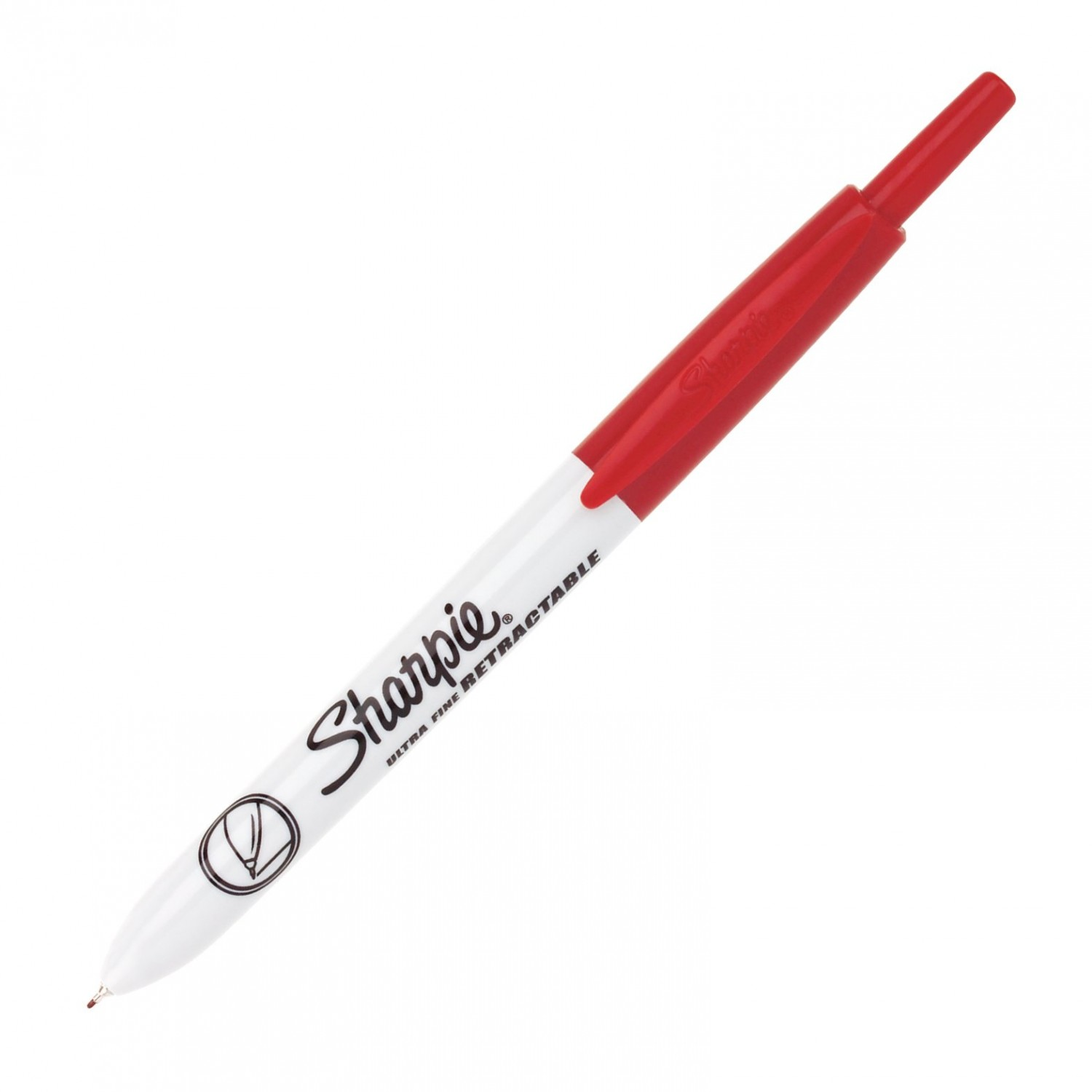 Sharpie Ultra Fine Retractable Marker, Red