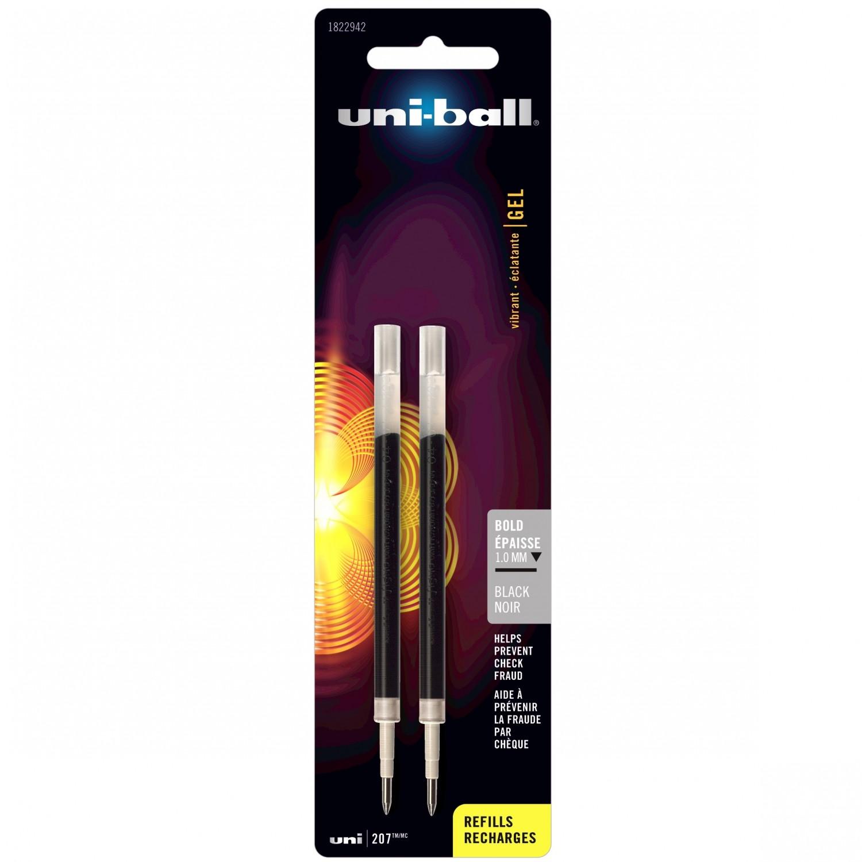*Uni-Ball 207 Gel Pen Refill Bold Back 2cd