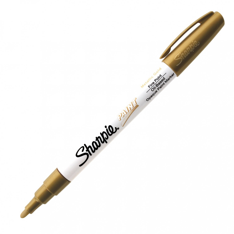 Sharpie Paint, Oil Base Metallic Gold Fine