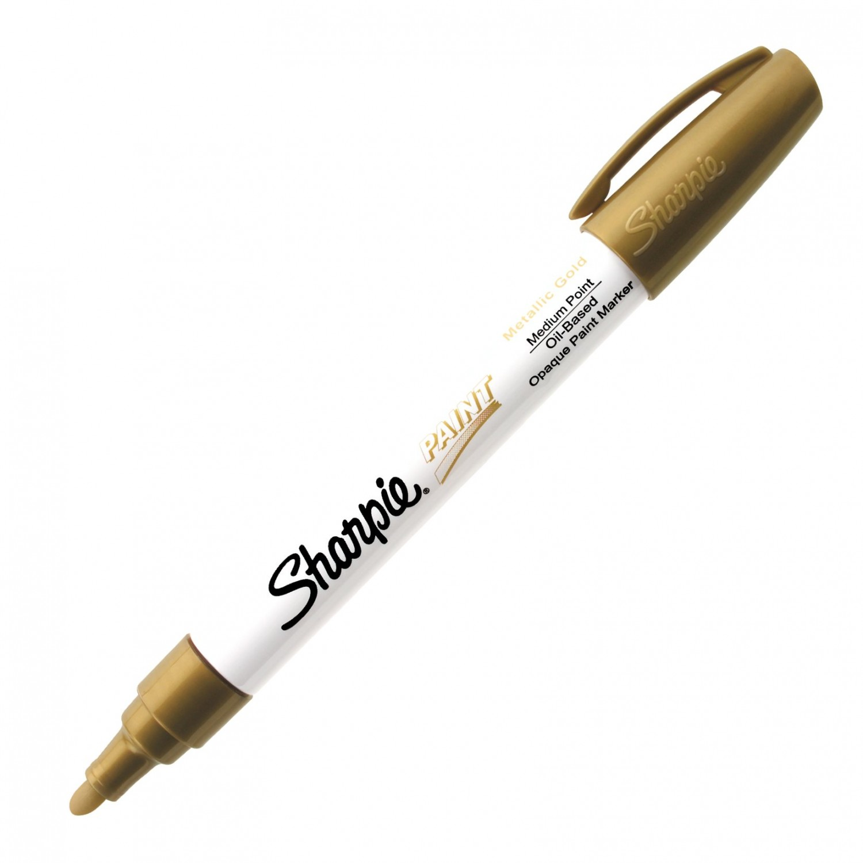 Sharpie Paint, Oil Base Metallic Gold Med