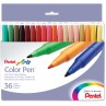 Pentel Color Pen, Set of 36